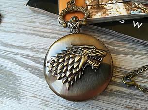 Часы Кулон Старков Игра Престолов Game of Thrones, фото 2