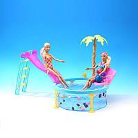 """Мебель """"Gloria"""" 1678  с бассейном для кукол 29 см"""