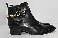 Женские кожаные ботинки San Marina, 37 размер, фото 1