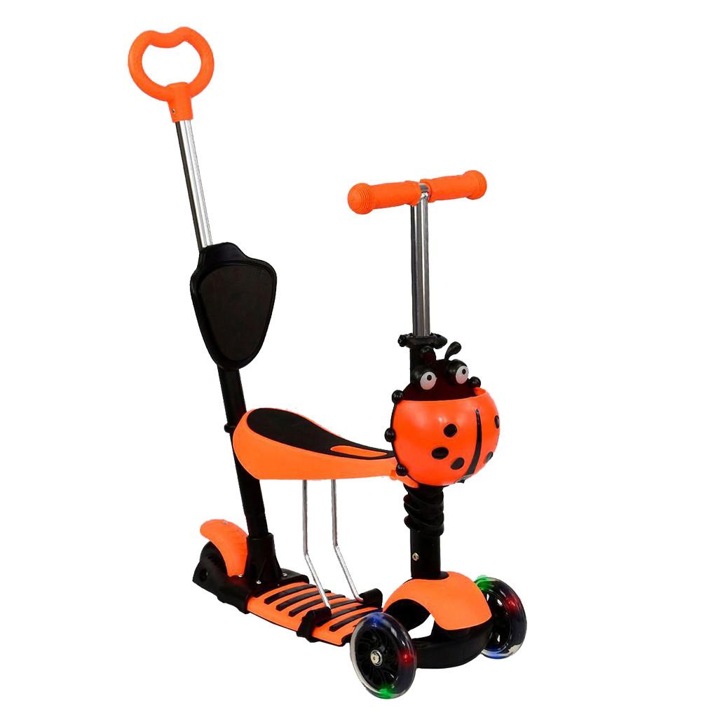 Самокат Best Scooter А 24681 - 3080 Oранжевый Mini 65278