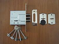 Замок дверной S.D SR-500 хром