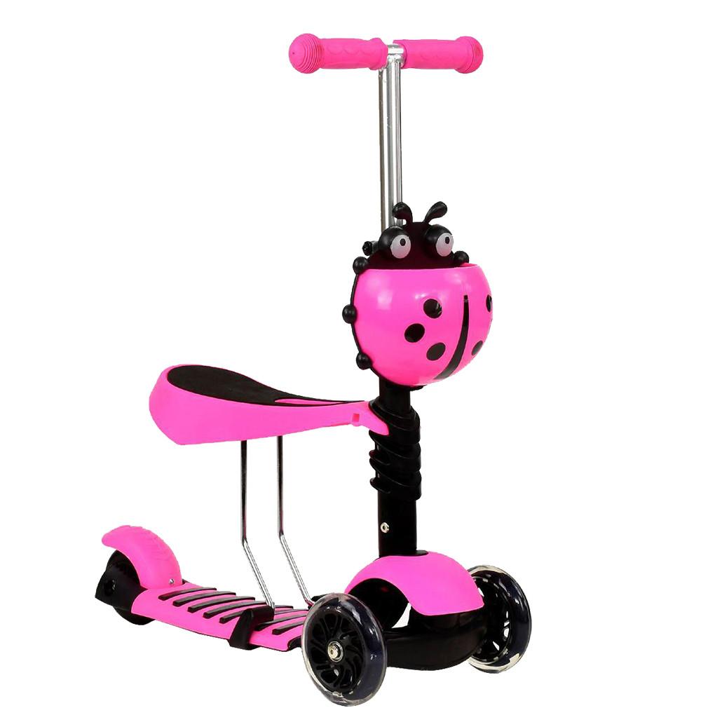 Самокат Best Scooter А 24666 - 1010 Розовый Mini 65356
