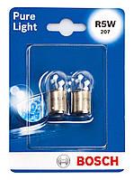 Лампа розжарювання 12V R5W BA15S PURE LIGHT БЛІСТЕР (2ШТ)