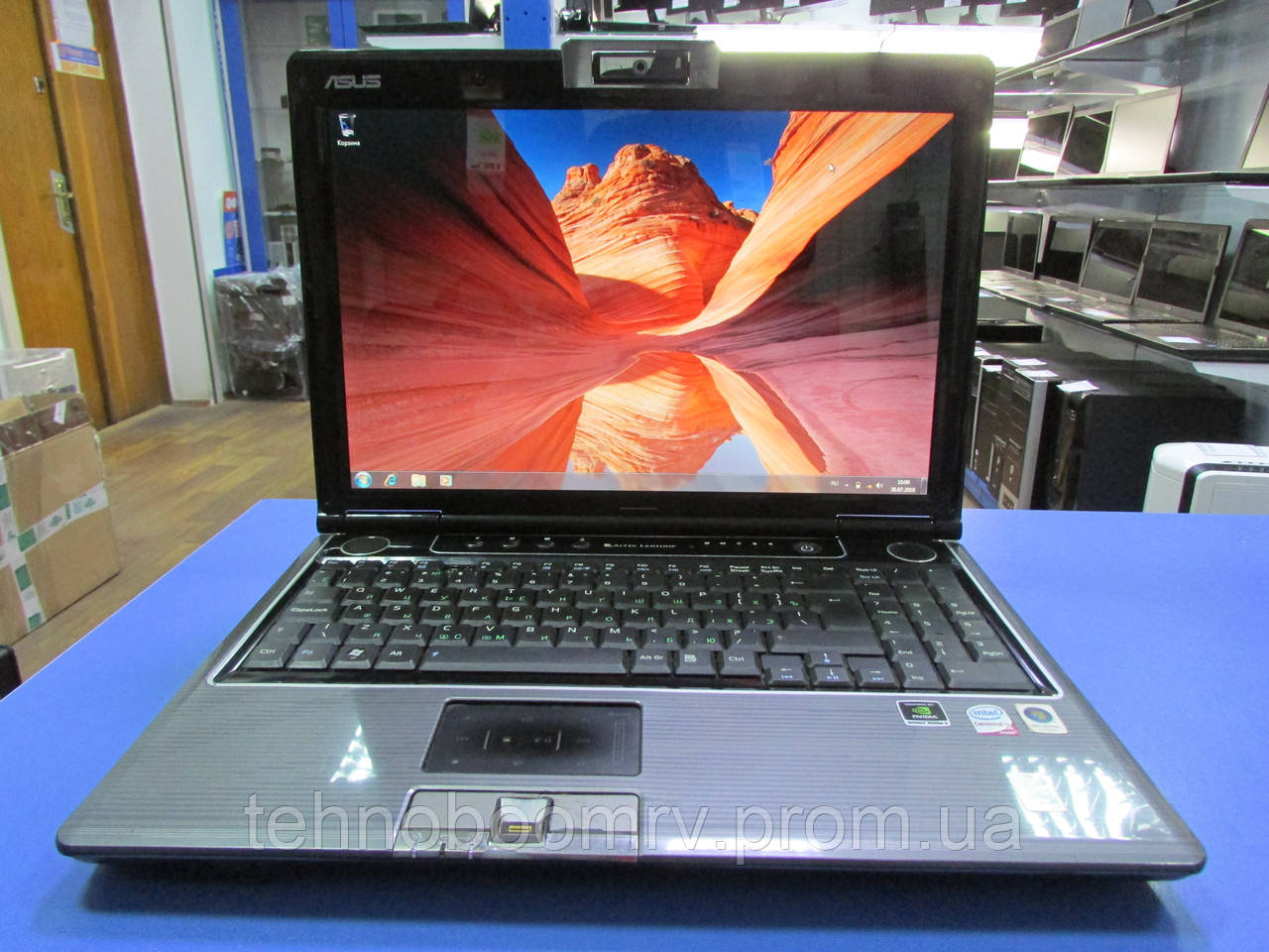 Asus M50V - Intel Core 2Duo T9600 2.8GHz/ nVidia GT 9300M GS/HDD 320GB