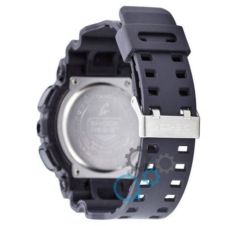Наручные часы в стиле Casio G-Shock GA-100 Black-White, фото 2