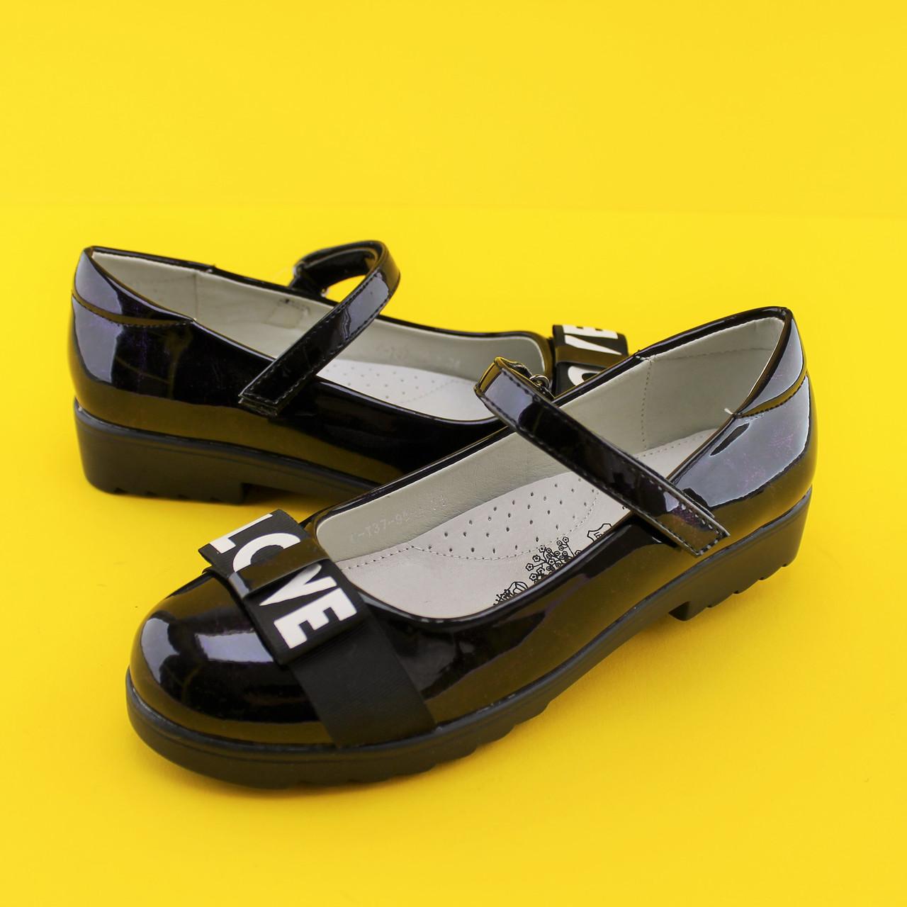 26d8bad6a Подростковые туфли на девочку школьная детская обувь тм Том.м р.36 ...