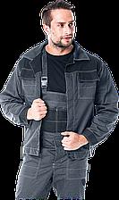 Куртка MMB SB рабочая мужская серая форма REIS Польша (одежда рабочая униформа)