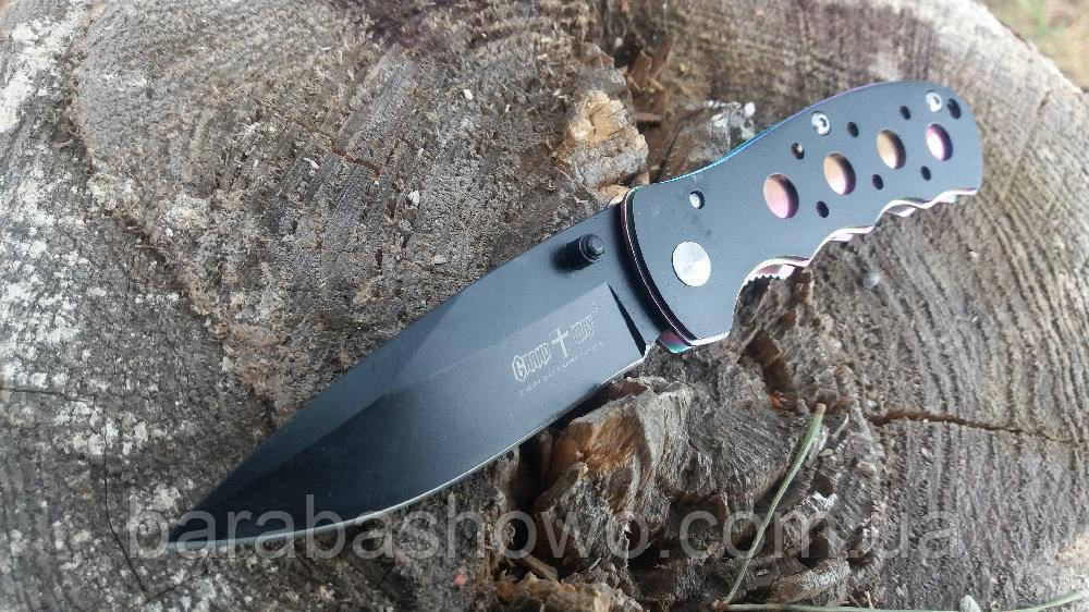Нож складной Карманный Hamelion на пояс Gold