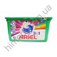 Гель-капсулы для стирки Ariel Color Style 42шт