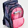 Школьный рюкзак для девочек girl style с модным принтом. Дышащая спинка, умный органайзер. Доставка бесплатно., фото 6