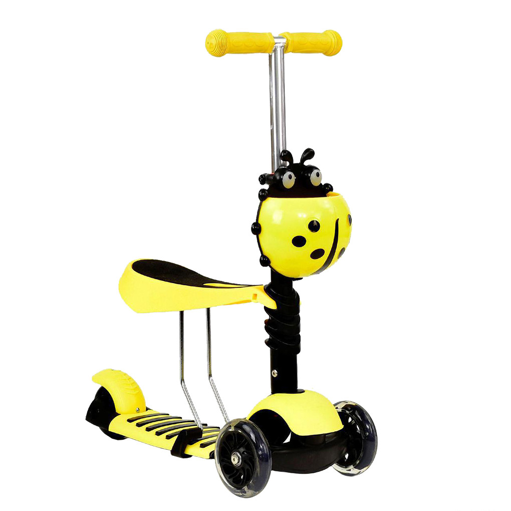 Самокат Best Scooter А 24667 - 1020 Желтый Mini 65357