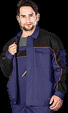 Куртка PRO-J NBP рабочая мужская синяя REIS Польша (спецодежда роба униформа)
