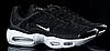 Мужские кроссовки Nike Air TN+ черные  топ реплика