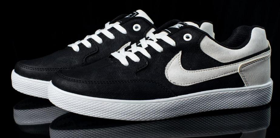 1984717d Мужские кроссовки Nike Air Force hight and low черно-белые топ реплика -  Интернет-
