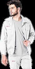 Куртка  BM W Master рабочая мужская белая (униформа спецодежда рабочая)