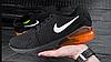 Мужские кроссовки Nike Air Max 270 оранжевые топ реплика