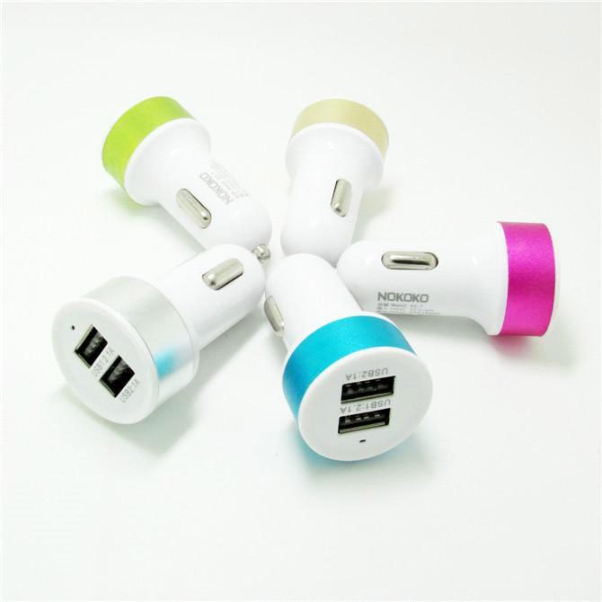 Автомобильная USB-зарядка Nokoko 703