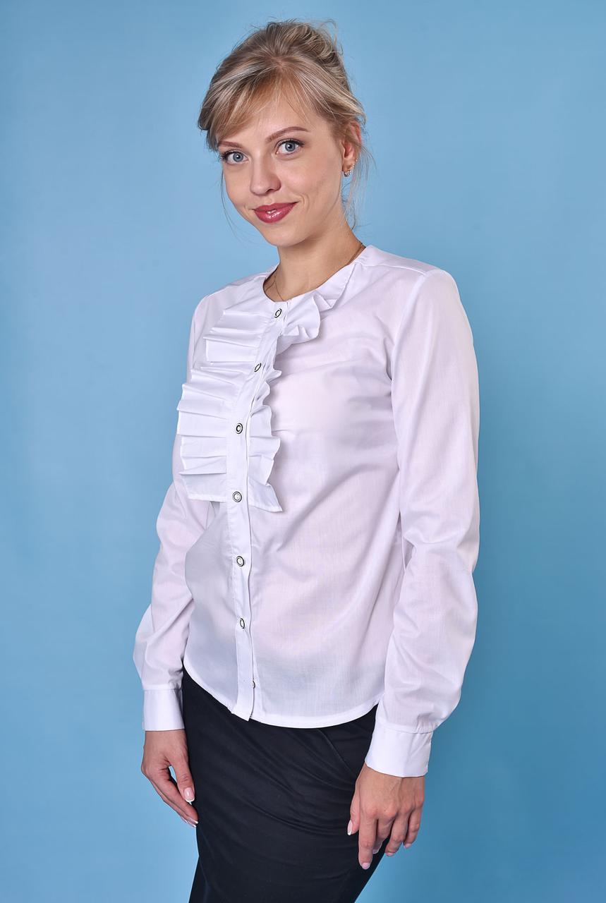 Блузка белая Жанина