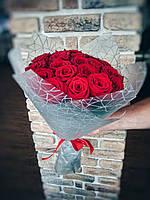 Букет из 19 красных роз, фото 1