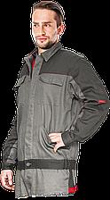 Куртка BOMULL-J SDS мужская Bomull рабочая серая REIS Польша (рабочая одежда мужская)