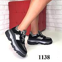 """Кроссовки в стиле  """"Balenciaga"""" черные, фото 1"""