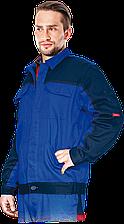 Куртка BOMULL-J NG Bomull рабочая мужская синяя REIS Польша (спецодежда для строительных работ)
