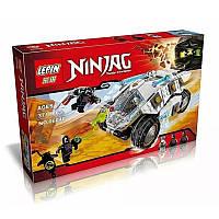 Конструктор Lepin 06040 Ninja ниньзя Ninjago ниньзяго Внедорожник титанового ниндзя 371 деталь, фото 1