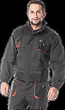Куртка FORECO-J SBP рабочая прочная Foreco мужская серая REIS Польша (униформа рабочая спецодежда)