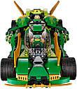 """Конструктор Ninja Bela 10803 (Lego Ninjago 70641) """"Ночной Вездеход Ниндзя"""", 570 дет., фото 3"""
