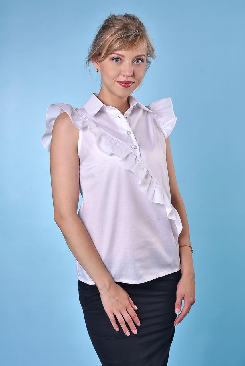 Блузка белая Каролина