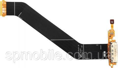 Шлейф для Samsung P5100 Galaxy Tab 2 10.1/P5110 з роз'ємом зарядки, мікрофоном