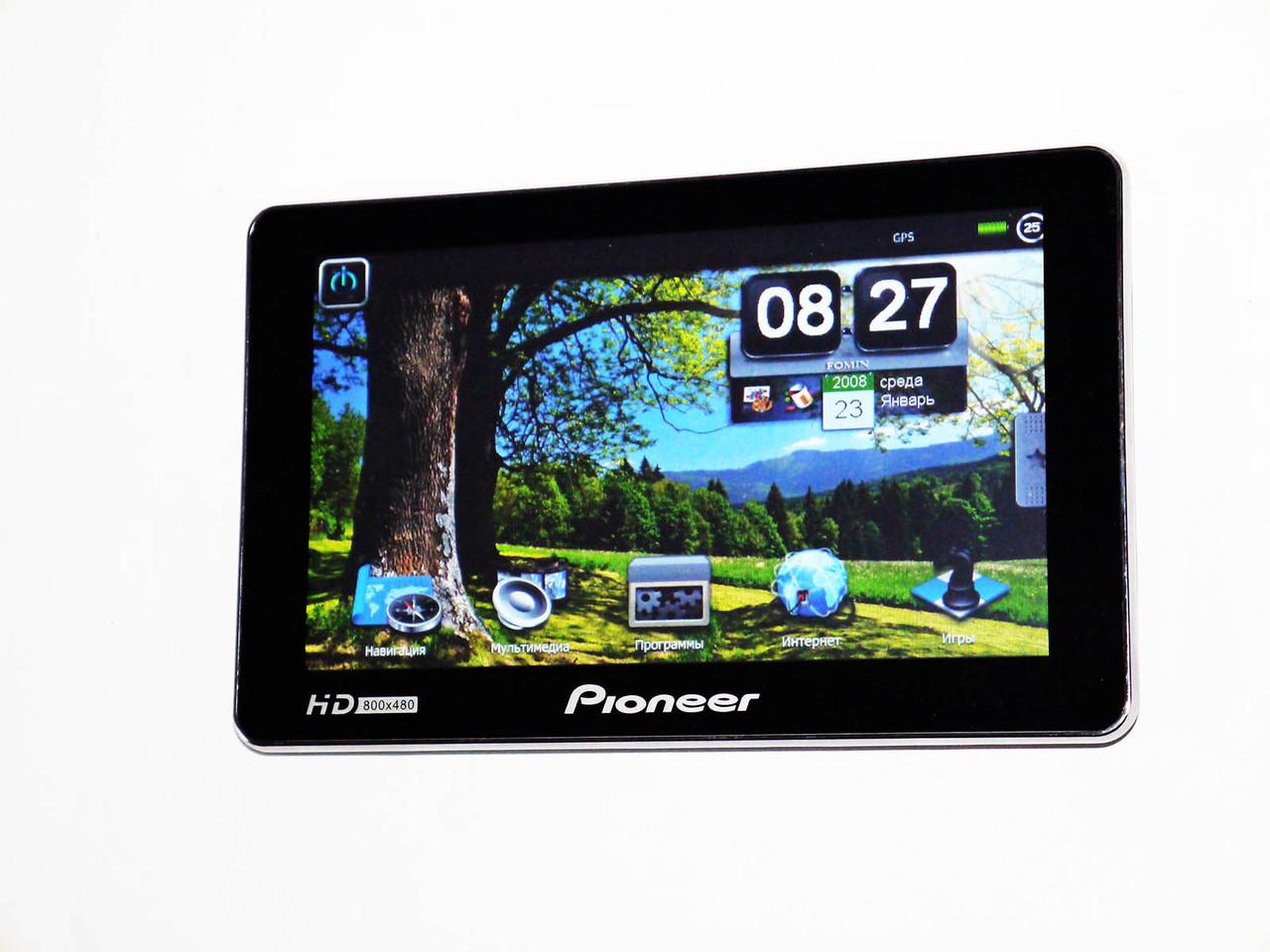 "7"" GPS навигатор Pioneer HD 4Gb"