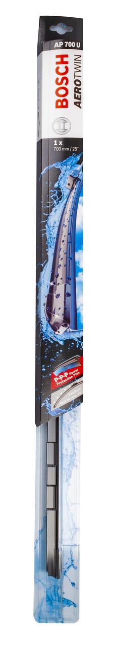 Щітка стеклоочісті. 700 мм aerotwin plus (безкаркасні.); 1-2-3-4 адаптер