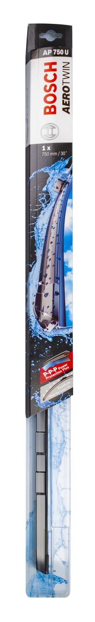 Щітка стеклоочісті. 750 мм aerotwin plus (безкаркасні.); 1-2-3-4 адаптер