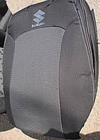 Авточехлы VIP SUZUKI Jimny 2005р→ автомобильные модельные чехлы на для сиденья сидений салона SUZUKI Сузуки Jimny