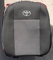 Авточехлы VIP TOYOTA Aygo 2005→ автомобильные модельные чехлы на для сиденья сидений салона TOYOTA Тойота Aygo