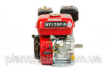 Двигатель бензиновый Weima BT170F-S2Р (шпонка, вал 20 мм,шкив на 2 ручья 76 мм), 7.0 л.с., фото 2