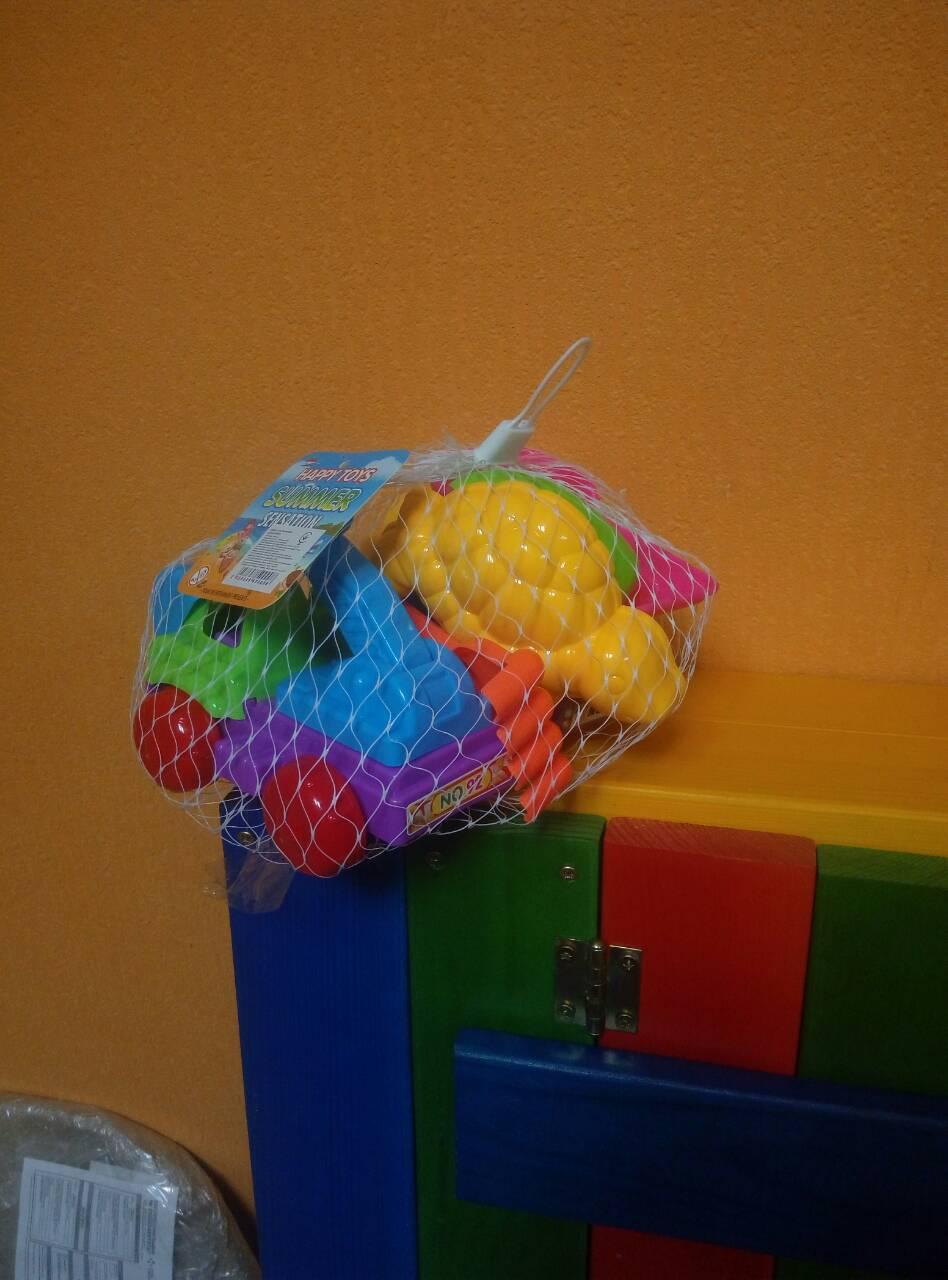 Детский набор для песочницы 8 элементов