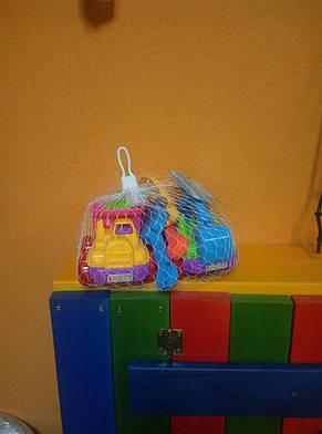 Детский набор для песочницы 8 элементов, фото 2