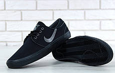 Кроссовки мужские Найк Nike Stefan Janoski Black, кеды. ТОП Реплика ААА класса., фото 3