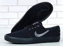 Кроссовки мужские Найк Nike Stefan Janoski Black, кеды. ТОП Реплика ААА класса., фото 2