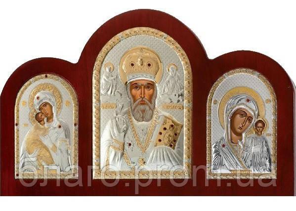 Складень триптих со Святым Николайем