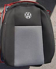 Чехлы VIP на Volkswagen Polo 2009 - автомобильные модельные чехлы на для сиденья сидений салона VOLKSWAGEN