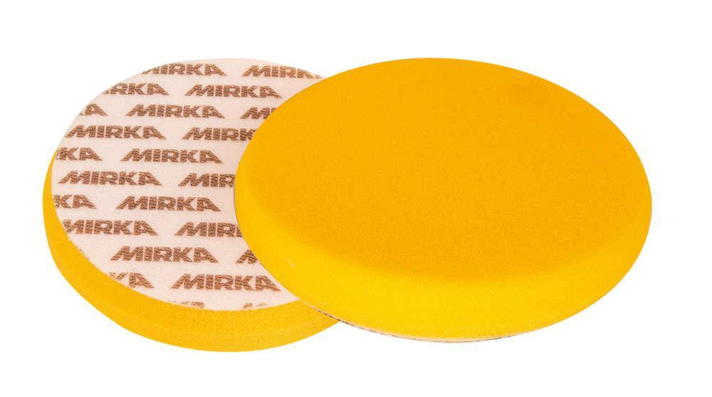 Круг полировальный желтый гладкий 150мм поролоновый MIRKA 7993415011