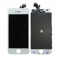 Дисплей для APPLE iPhone 5 с белым тачскрином high copy (ID:5442)