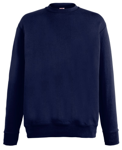 Мужской лёгкий свитер Глубокий Тёмно-синий  Fruit Of The Loom  62-156- AZ Xxl