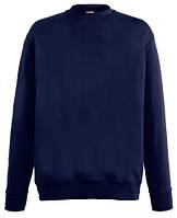 Мужской лёгкий свитер Глубокий Тёмно-синий  Fruit Of The Loom  62-156- AZ Xxl, фото 1