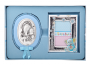 Срібна рамочка і ікона Марія з немовлям
