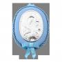 Срібна рамочка і ікона Марія з немовлям, фото 3