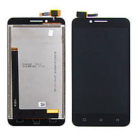 Дисплей для LENOVO A2020 Vibe C с чёрным тачскрином (ID:10910)